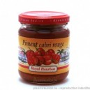 """Pate de piment rouge cabris Royal Bourbon"" 200g"